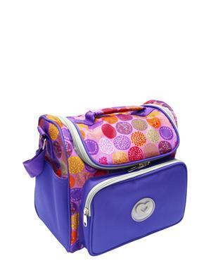 CAMERA กระเป๋าแม่เด็กสะพายข้างกลม รุ่น CBA018B สีฟ้า