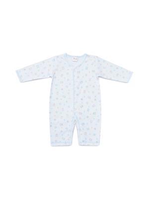 ANGEL BABY ชุดหมีขายาวกระดุมหน้าเด็กเล็ก รุ่น K17031745 ไซส์ 70 สีขาว