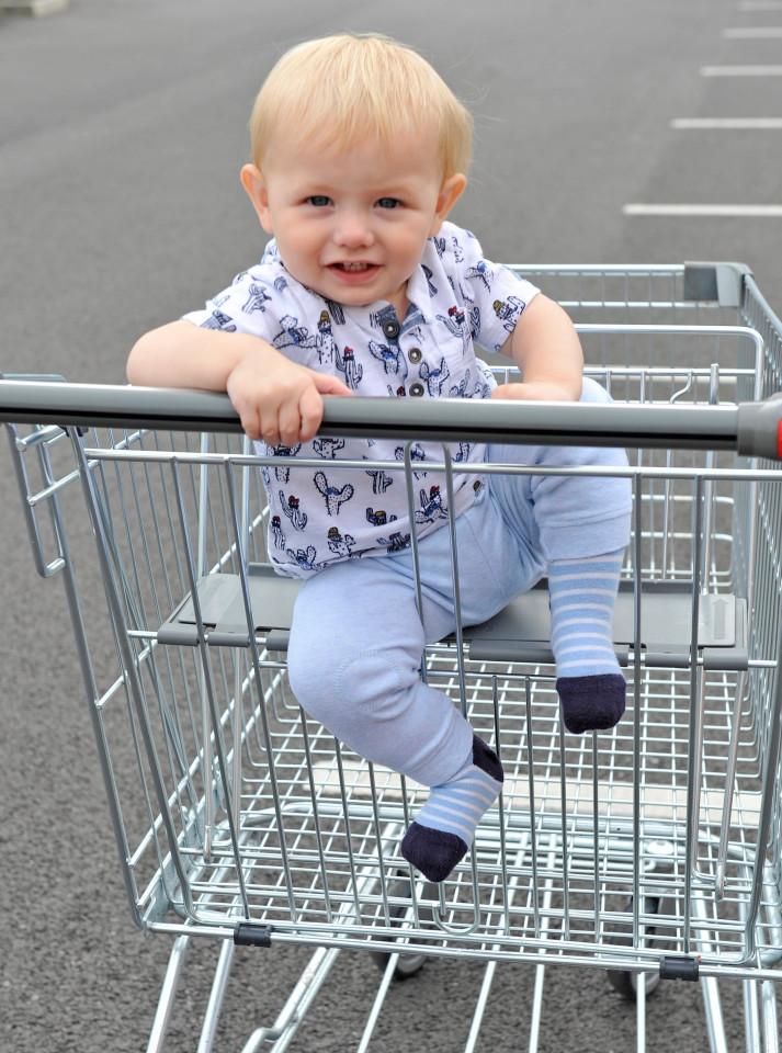 รถเข็นสินค้าแทนรถเข็นเด็ก